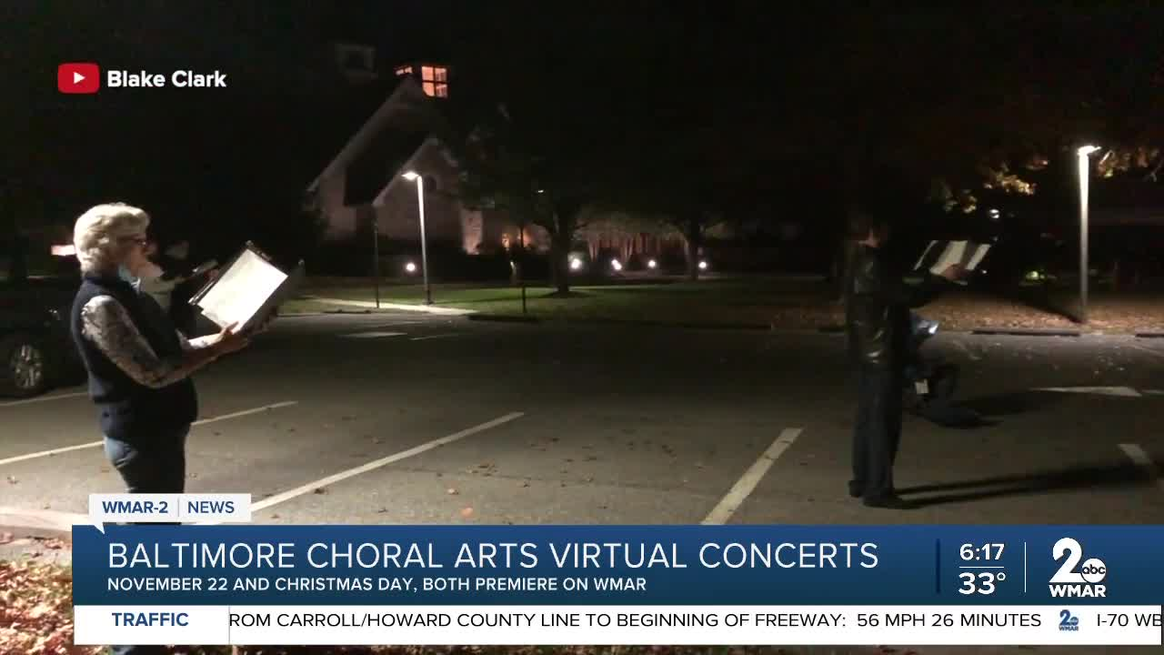 The Baltimore Choral Arts Society Practices For Upcoming Concerts In A Unique Way