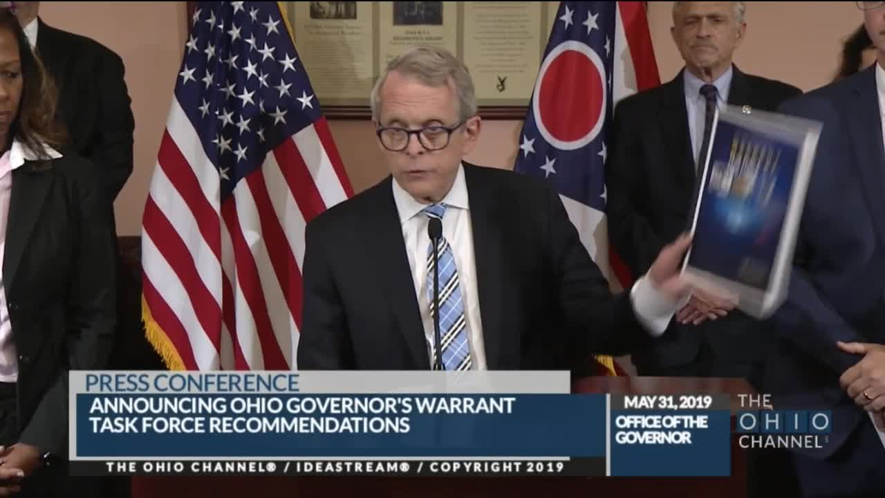 who has a warrant in ohio