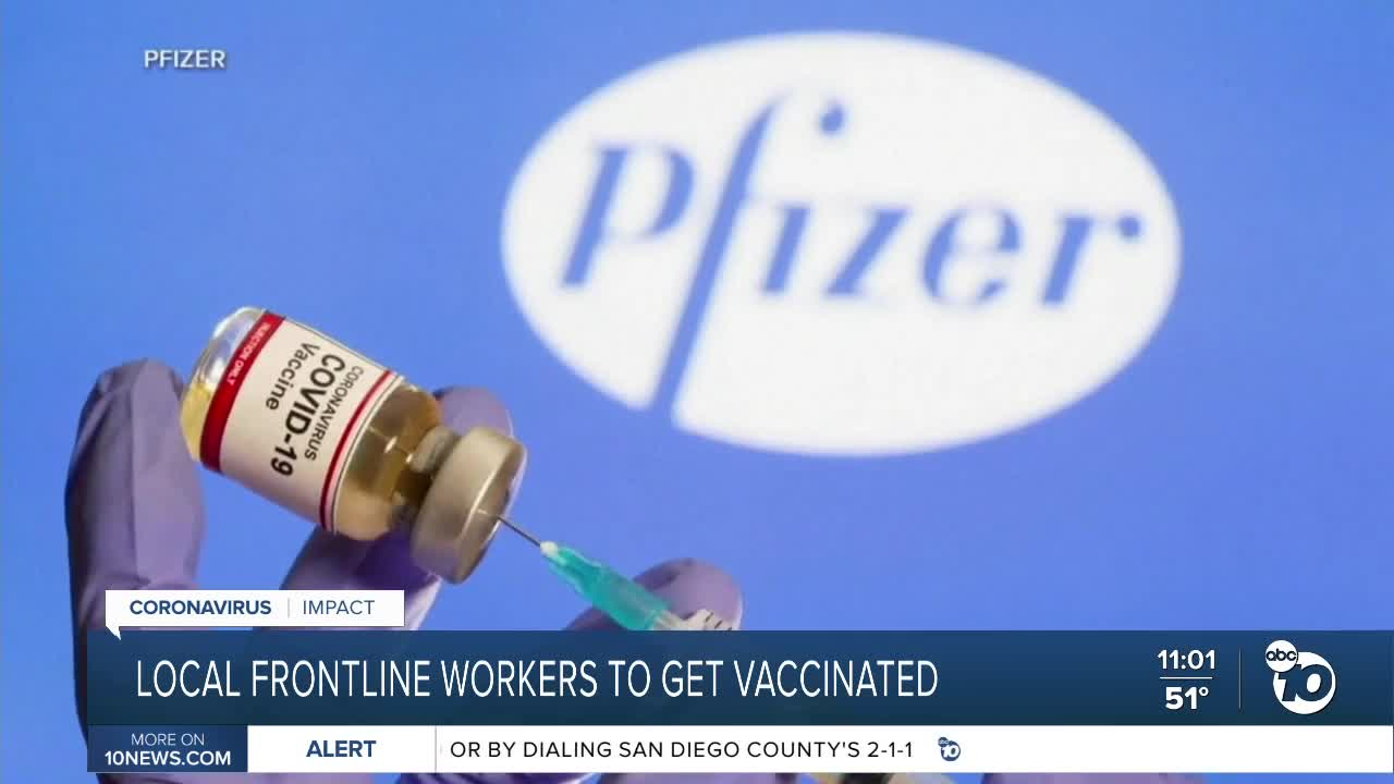 Chicago's 1st COVID-19 vaccines given at West Side hospital