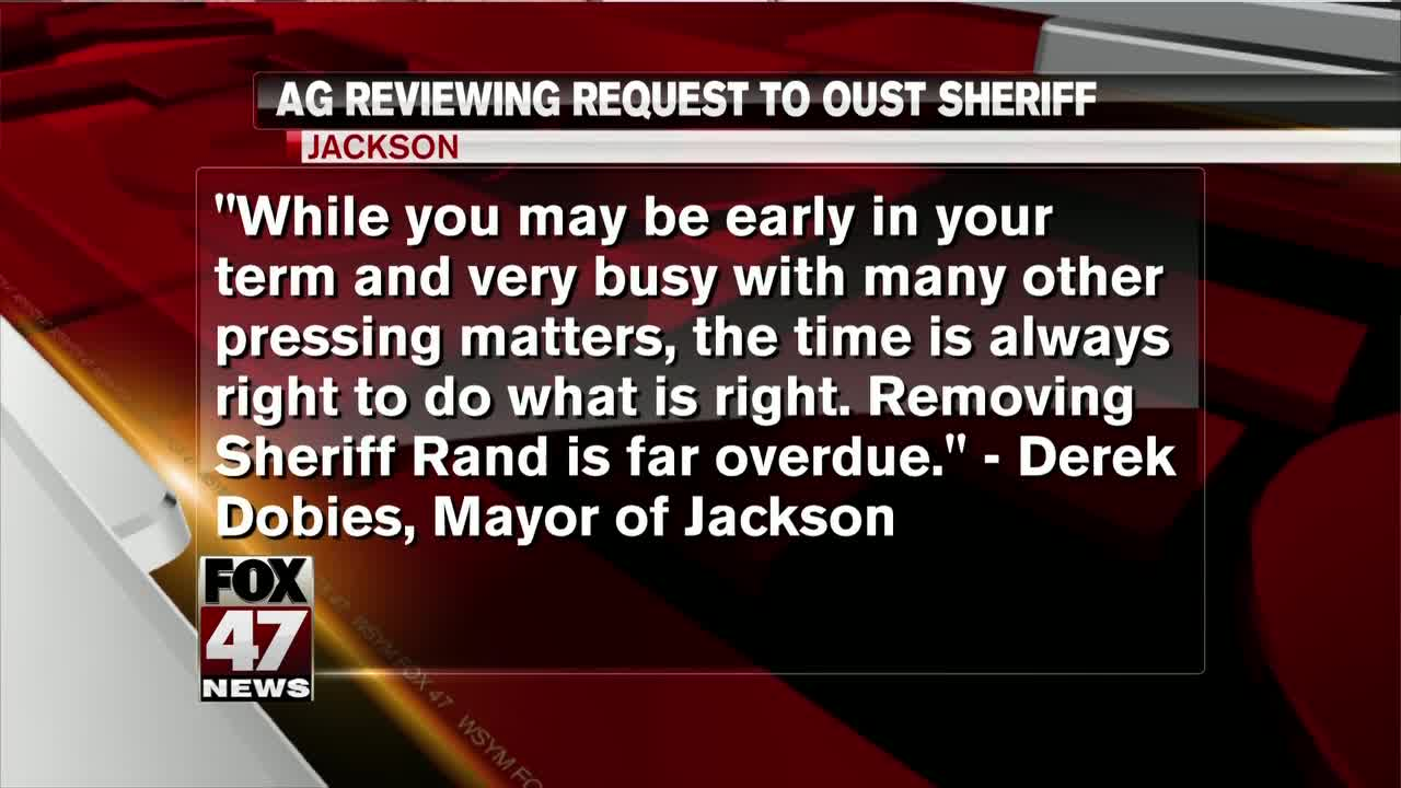 Attorney General Dana Nessel Reviews Request To Remove