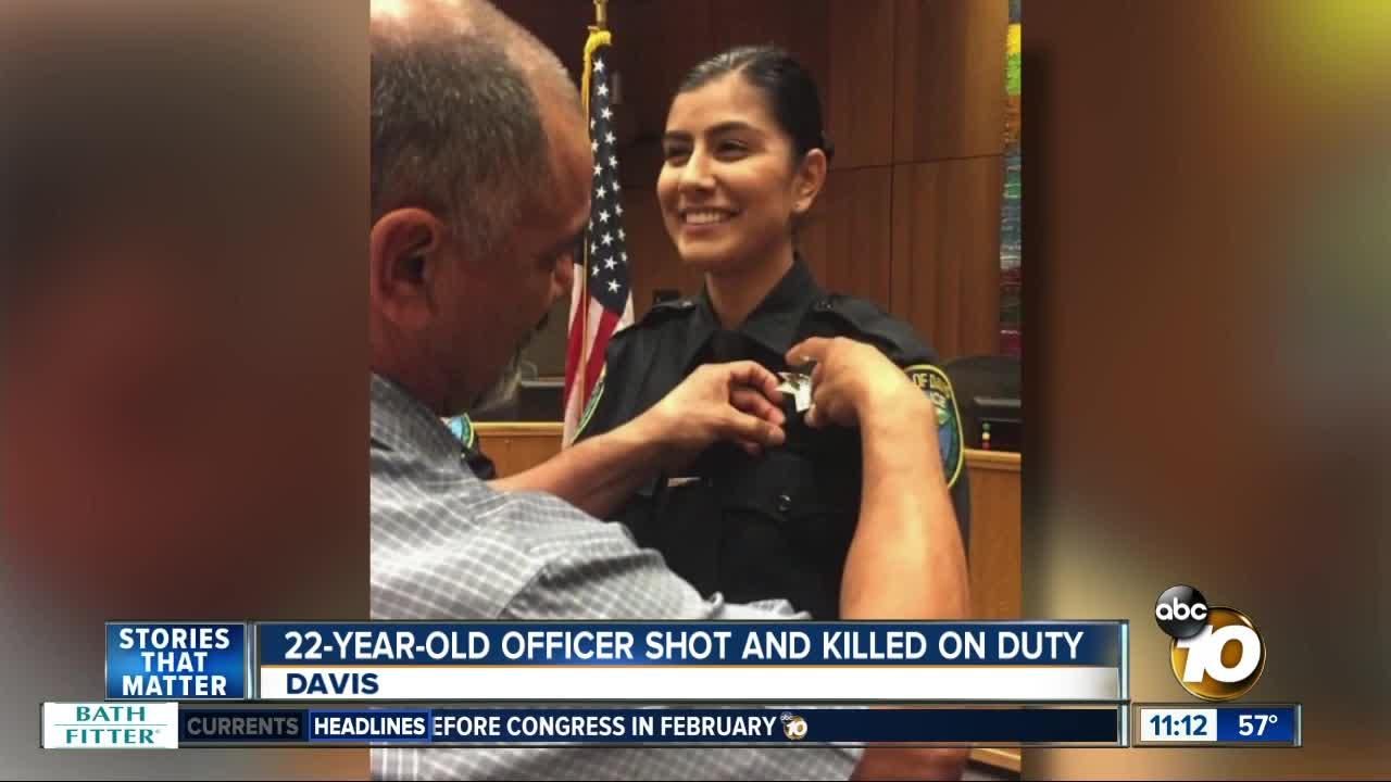 Father of Slain Davis Officer: 'She Died Doing What She Loved'