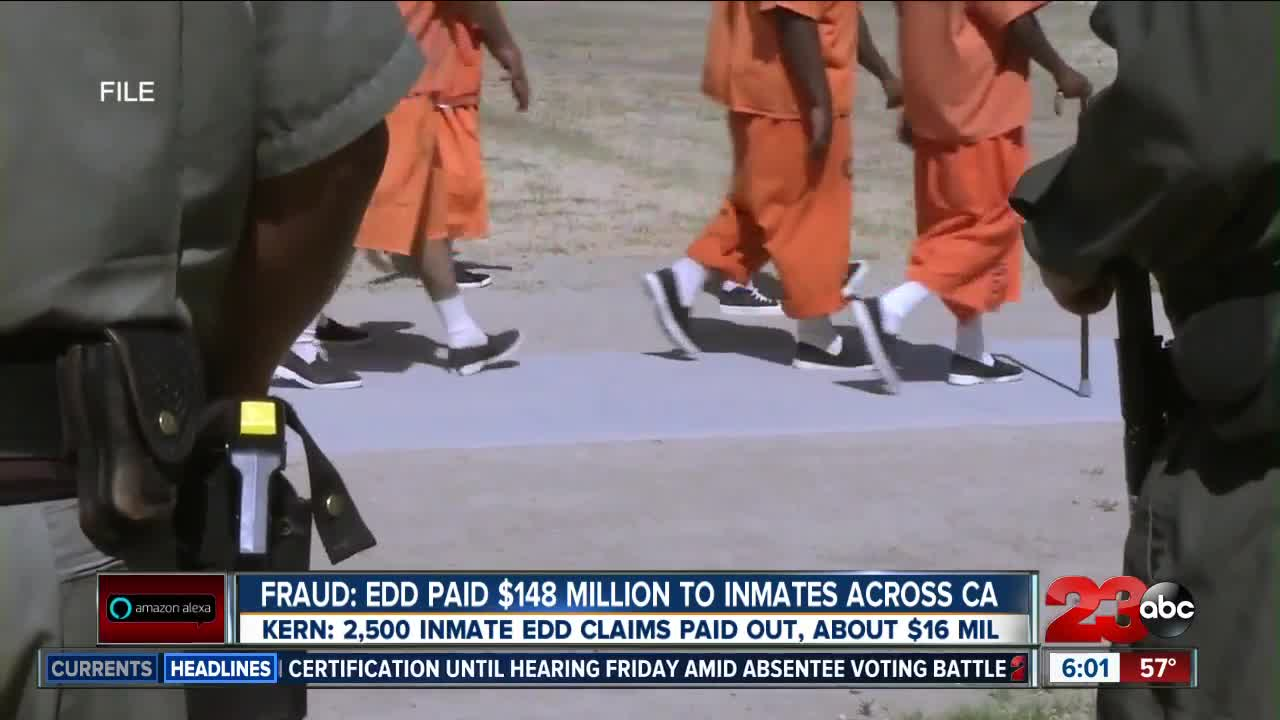 California inmates accused of stealing $1 billion in virus unemployment aid