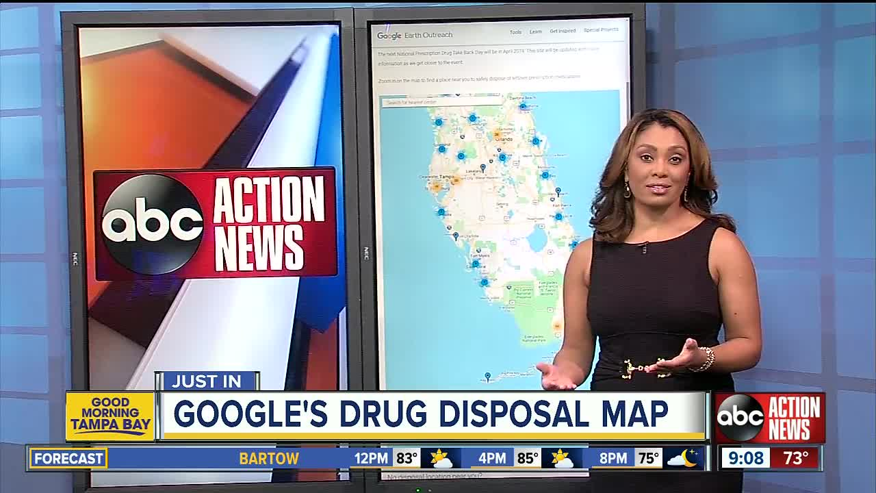 Google makes it easier to find prescription drug disposal sites