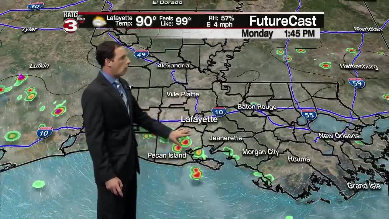 Tropical development in the Gulf becoming more likely
