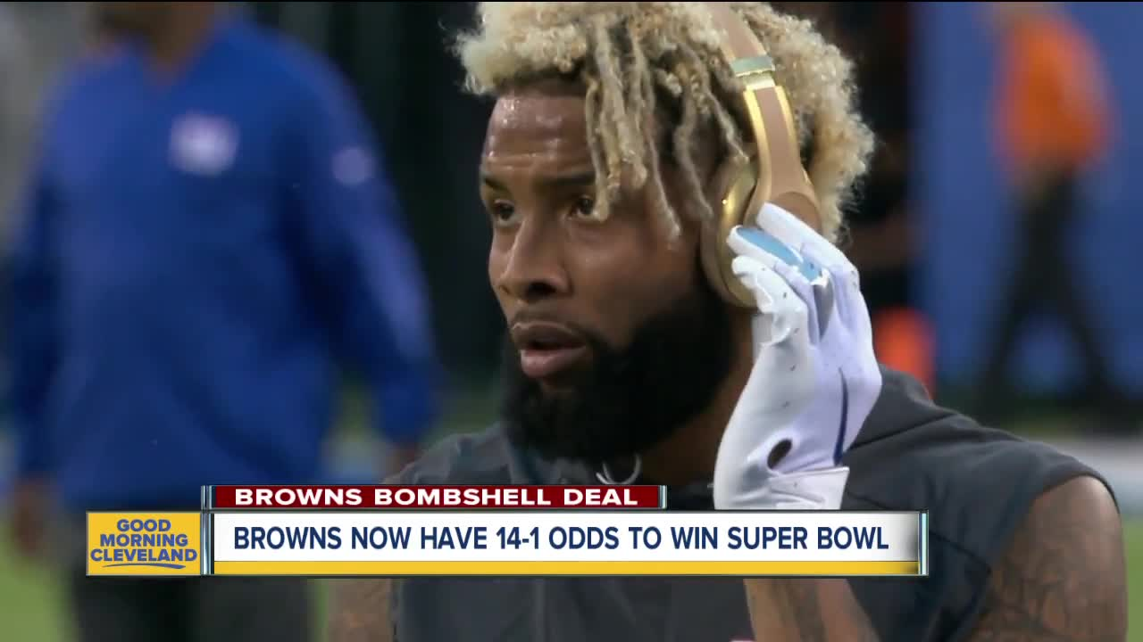 Cleveland Browns odds to win Super Bowl increase after Odell