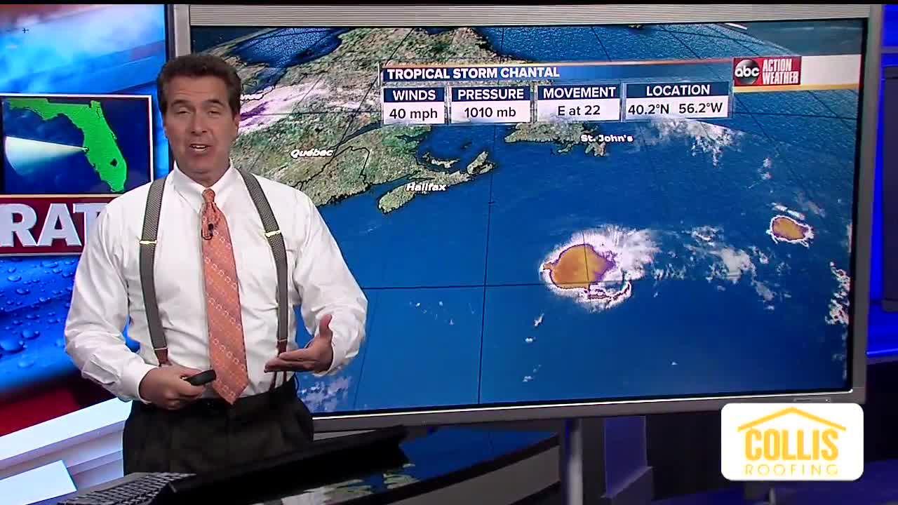 Forecasters watching tropical disturbance that's approaching Florida