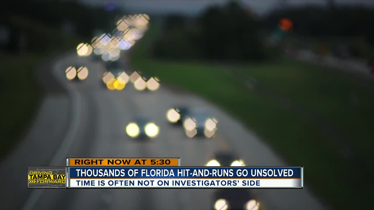 Hit And Run Crashes Are A Growing Problem In Florida And Many Go