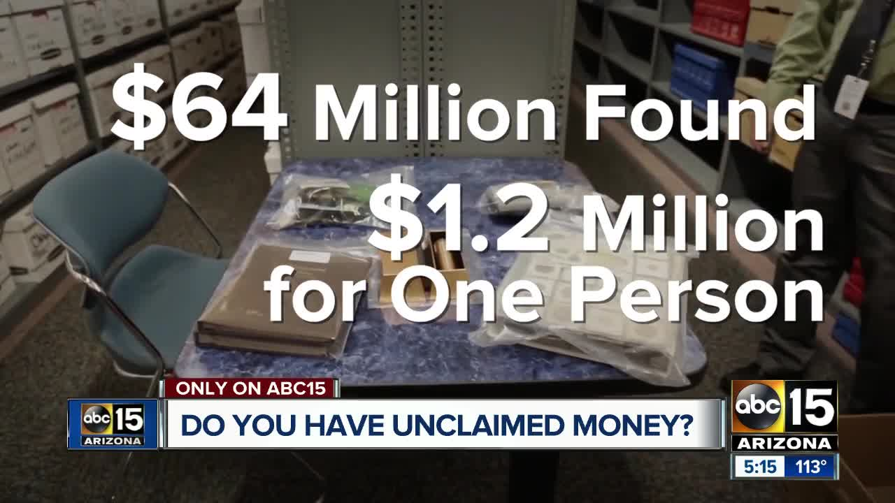 Let Joe Know: Are you on the unclaimed money list?