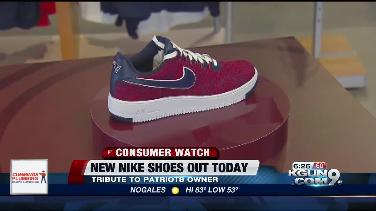 58b014fa95d7 New England Patriots owner debuts brand new pair of Nike sneakers