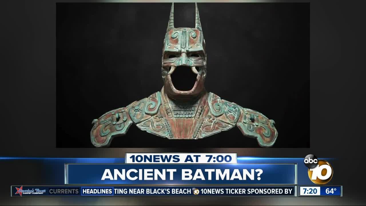Fact or Fiction: Ancient Mayan sculpture resembles Batman?