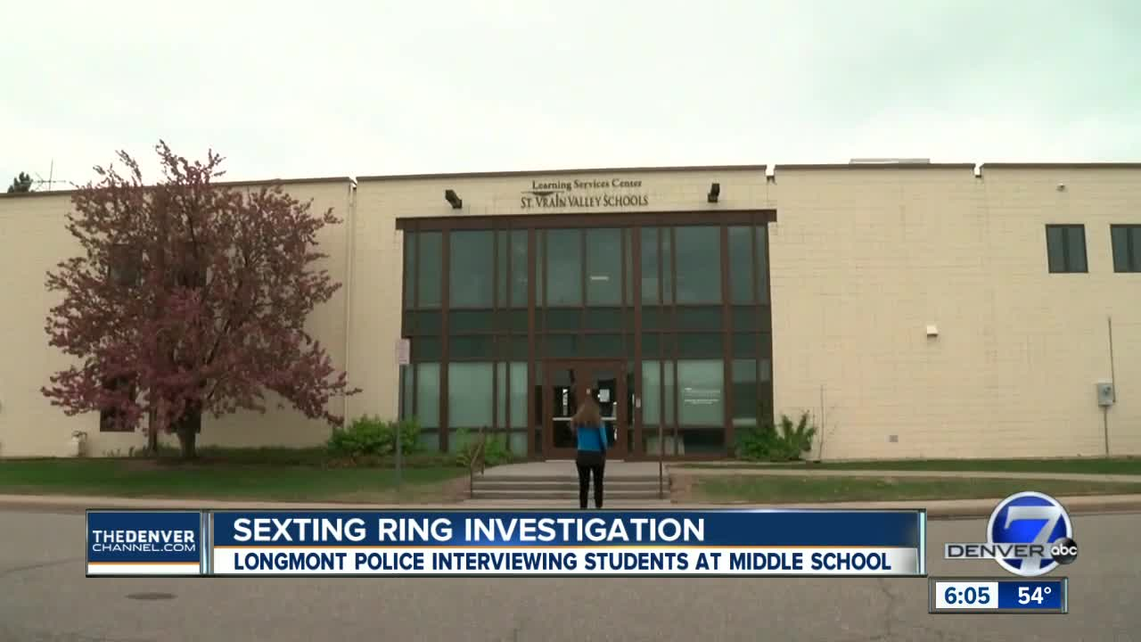 Longmont police investigate allegations of sexting ring at