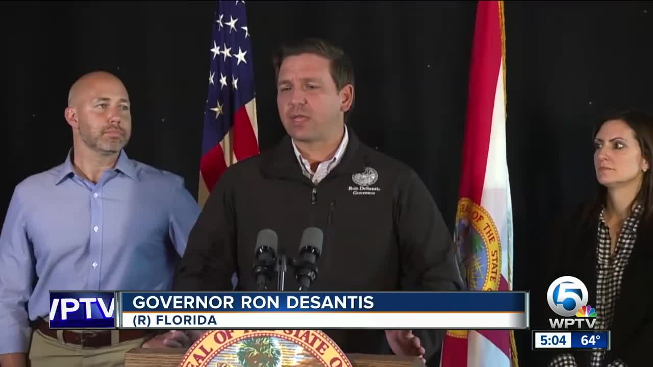 Gov. DeSantis to speak on holding 'government officials accountable'