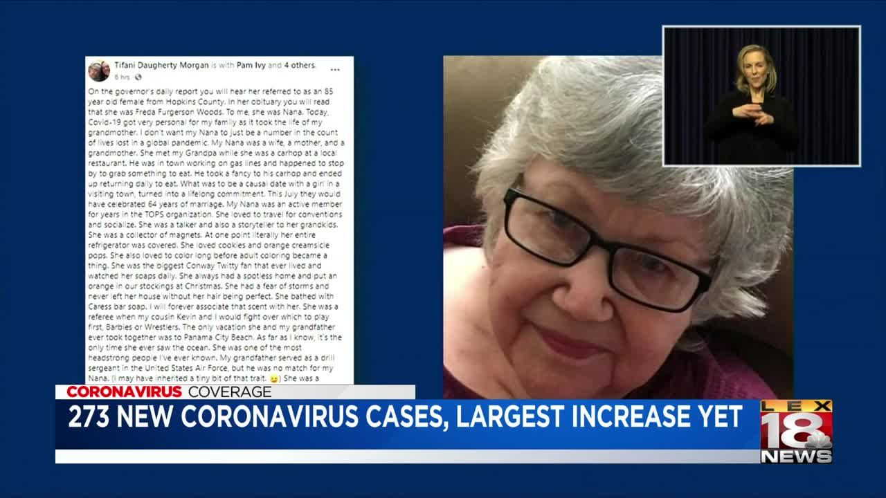 196 new COVID-19 cases, 14 new deaths in Kentucky