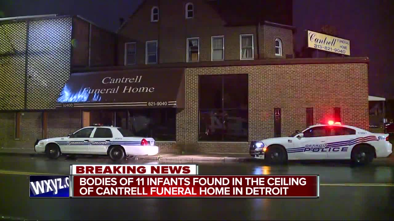 Police working to ID 11 infant bodies found in ceiling of former