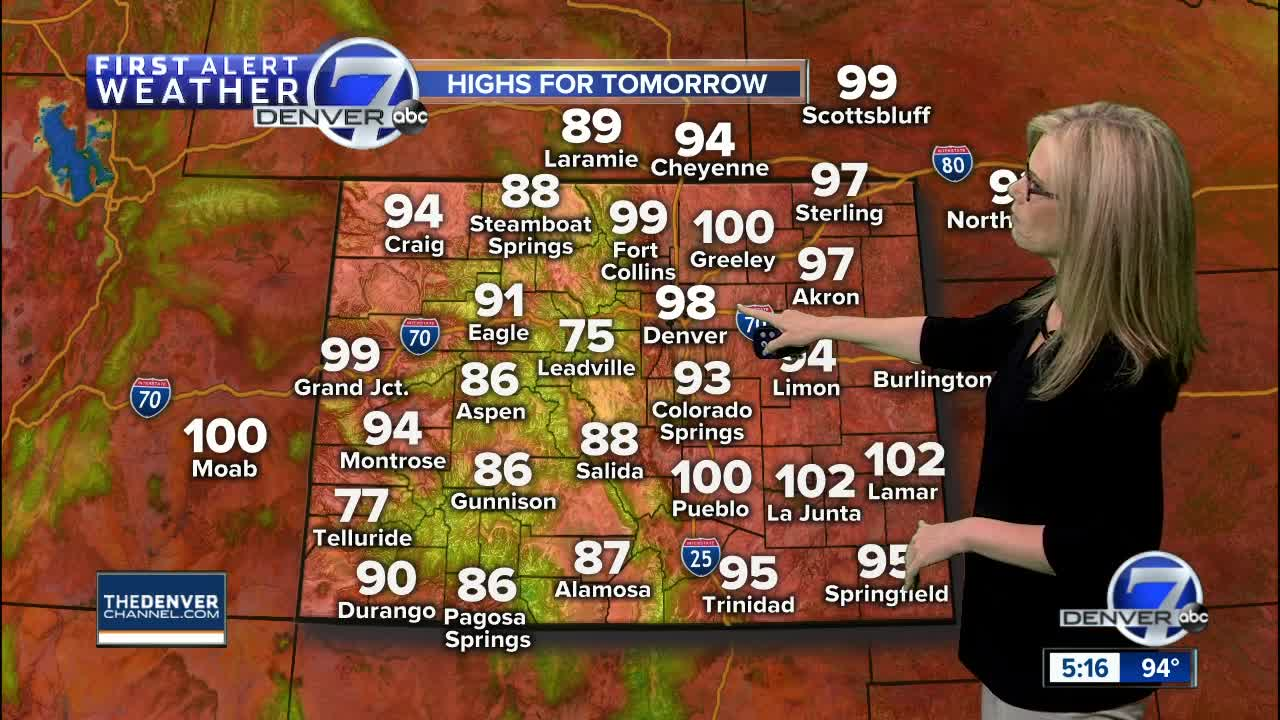 Temperatures in the 70s expected this weekend before rain on Labor Day
