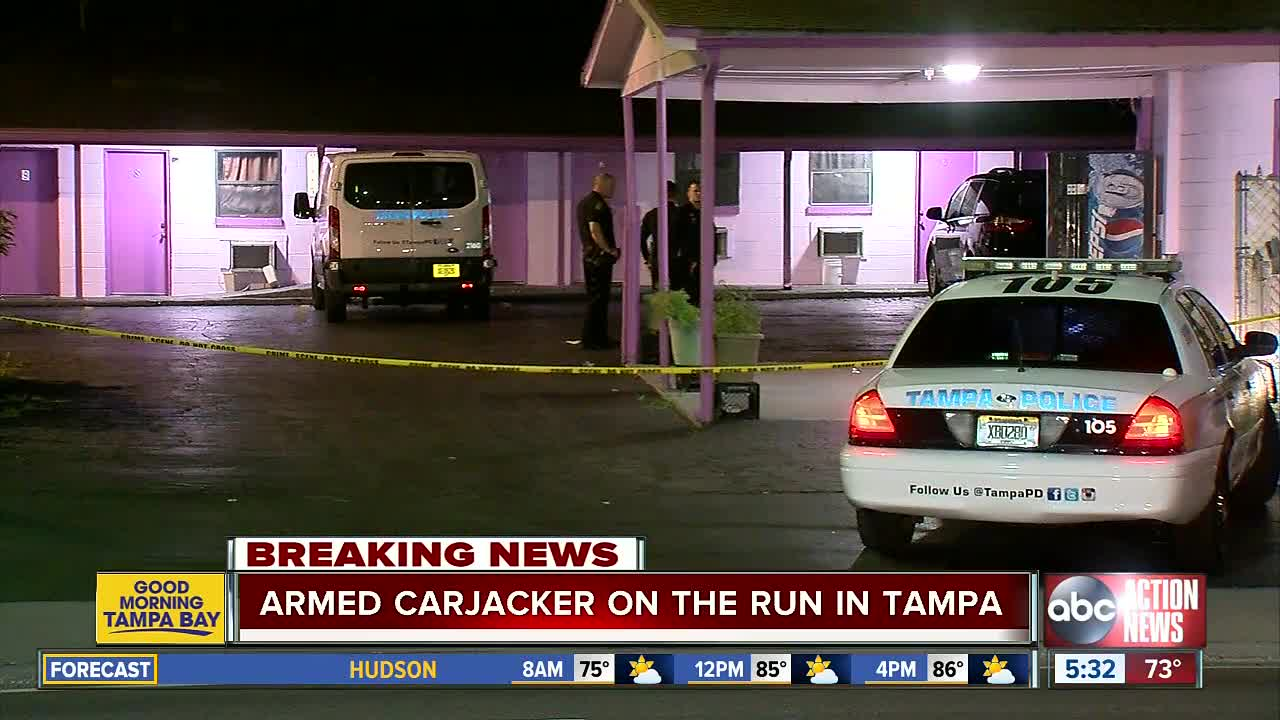 Police Investigating Shooting And Carjacking In Tampa S Seminole