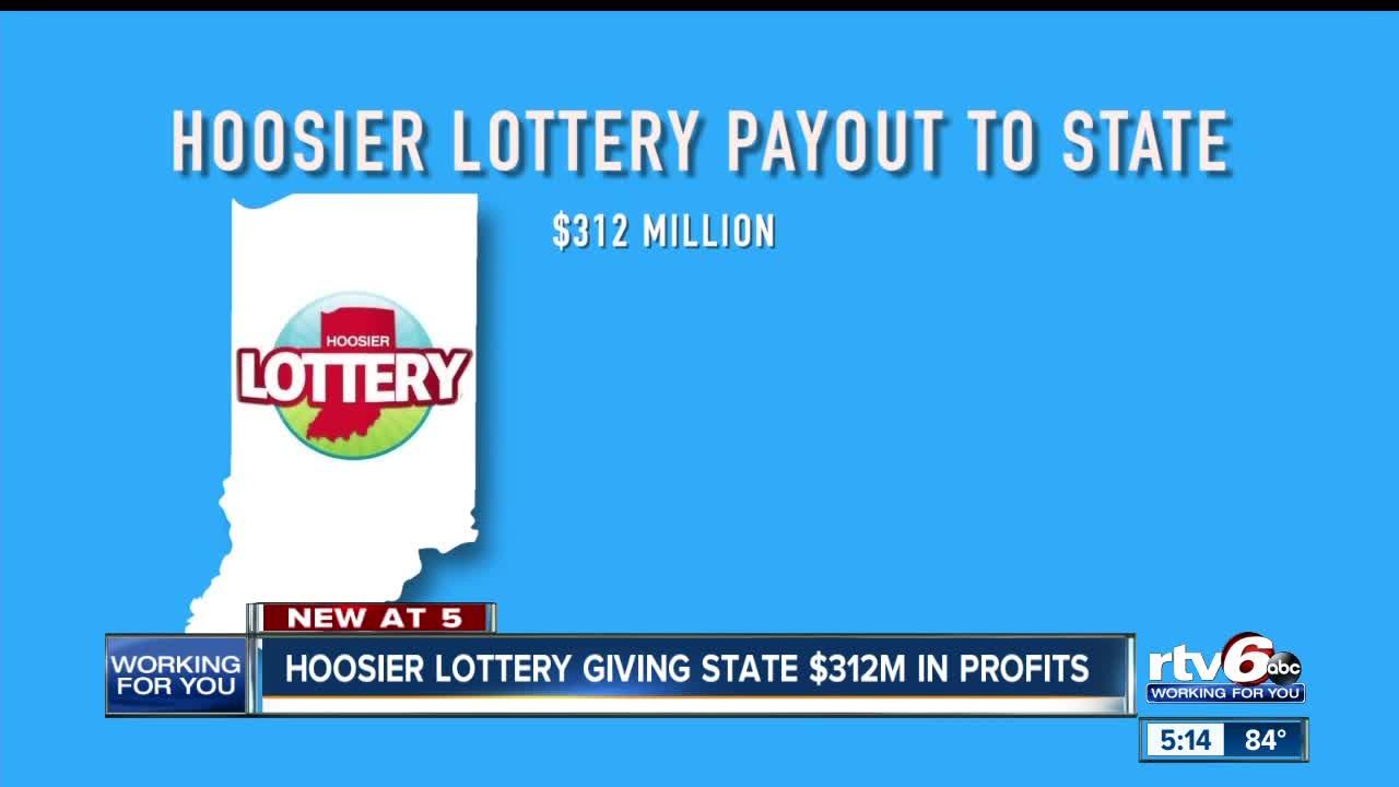 Hoosier Lottery giving state $312 million in profits