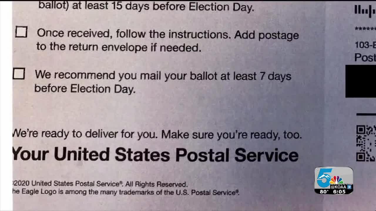 Colorado to file lawsuit against USPS over pre-election mailer