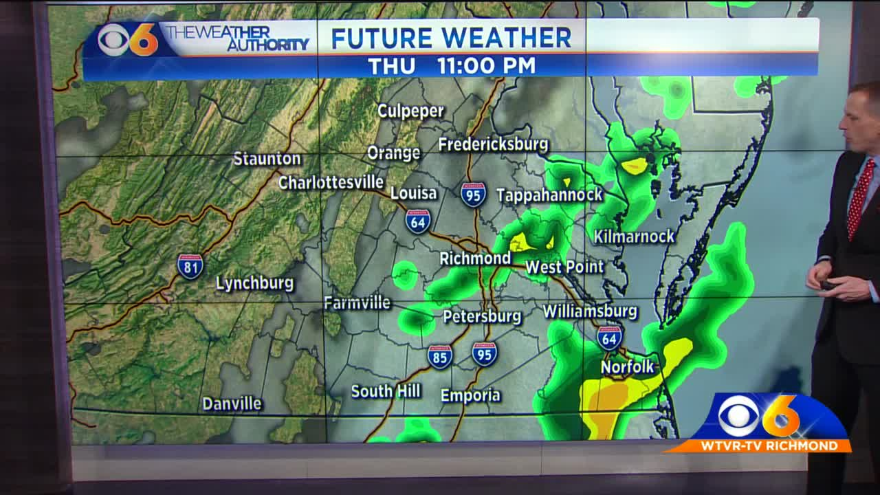 Humid with rain and storms for our Tuesday