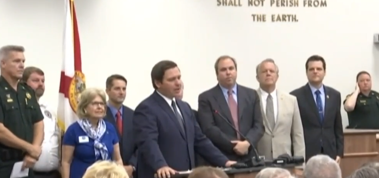 poster 9a2b54a14e3d4907a1a3665b2be0b800 In: Gov. DeSantis visits Stuart, announces plan to crack down on environmental crimes | Our Santa Fe River, Inc. (OSFR) | Protecting the Santa Fe River in North Florida
