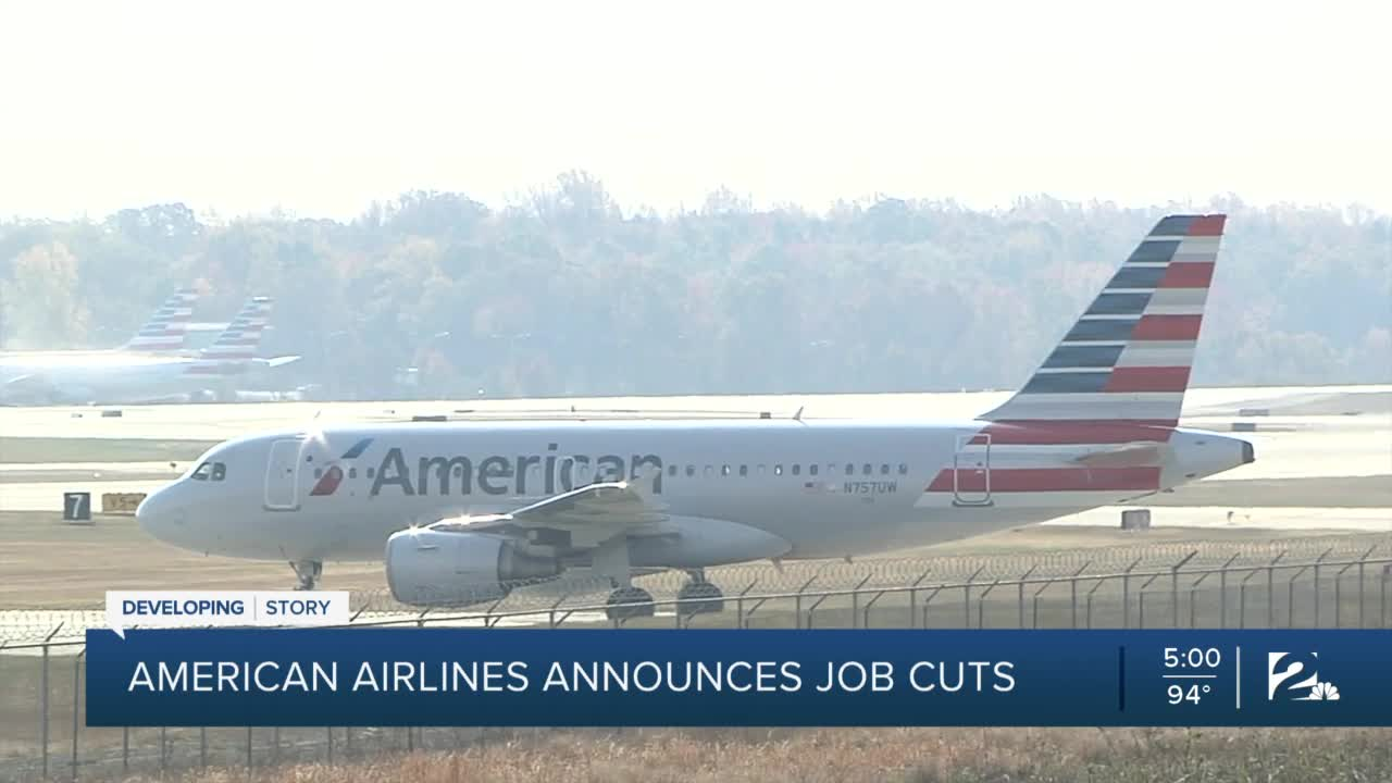 American Airlines recent furlough, layoff may impact Tulsa base