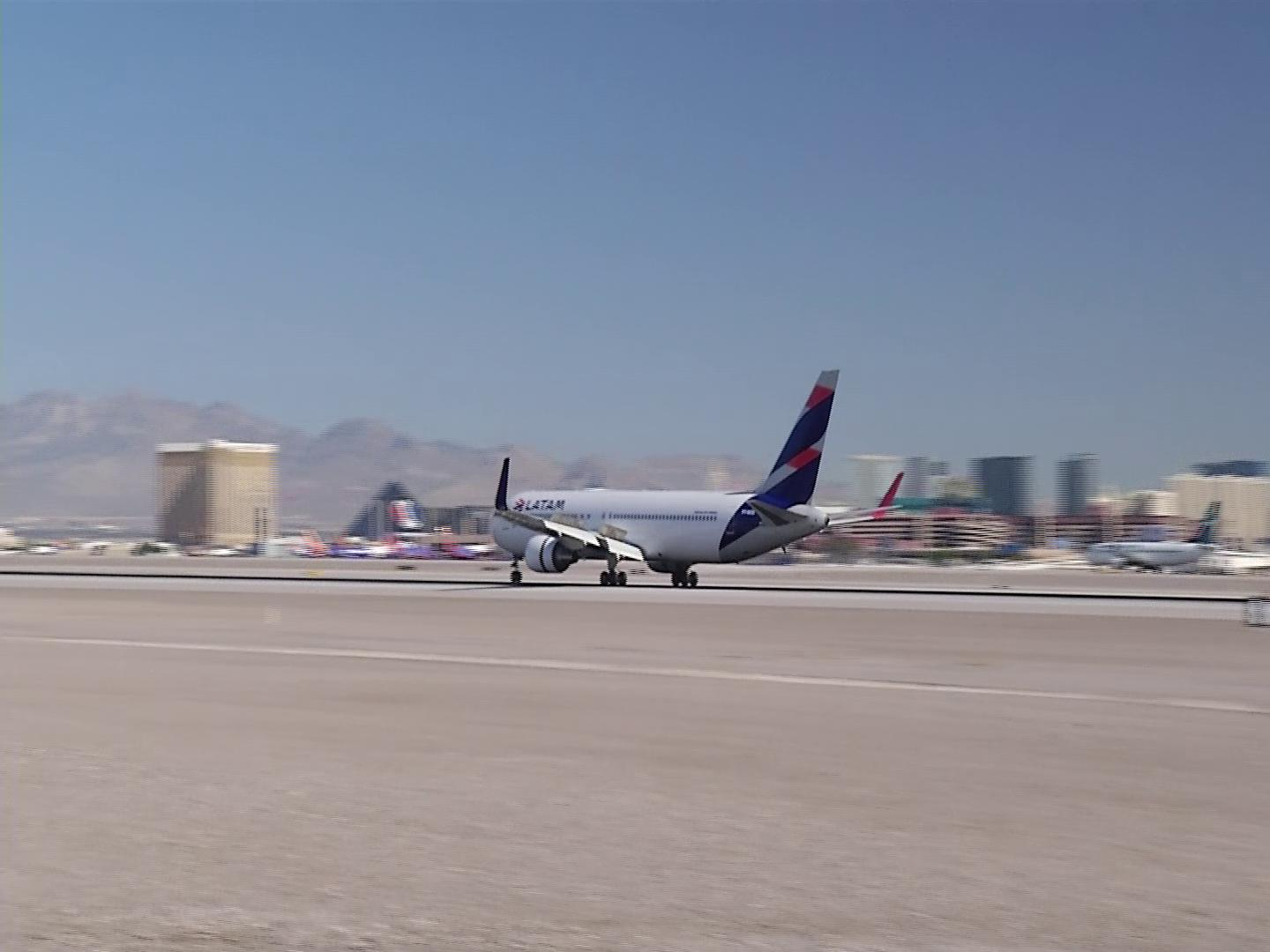 Straight from Sao Paulo, newest service to/from Las Vegas arrives at McCarran