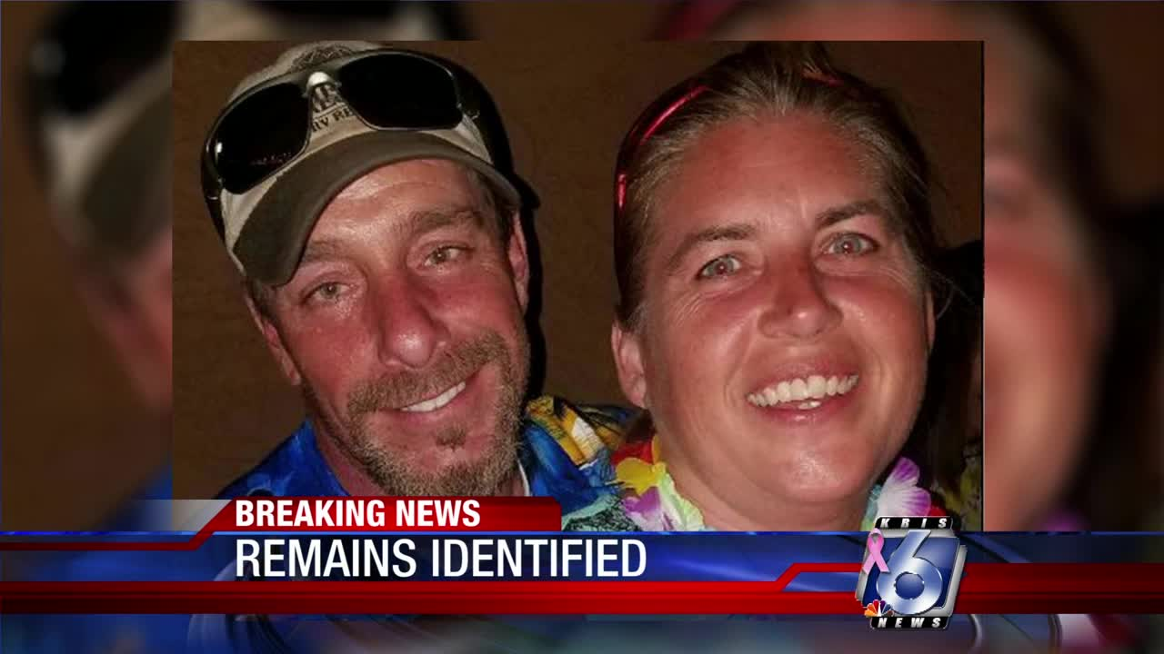 Police say bodies buried on Texas beach belong to missing couple