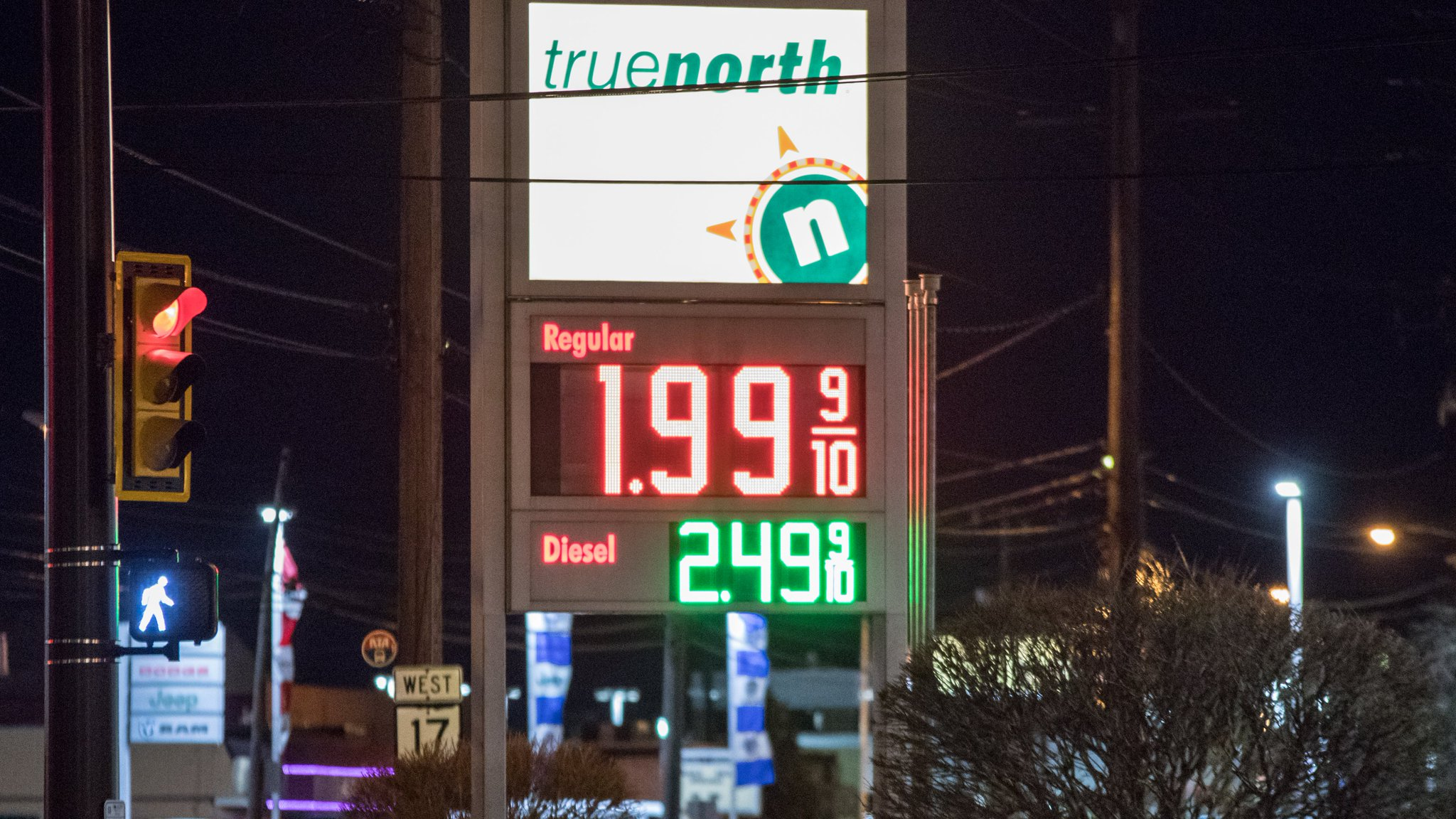 Coronavirus upside? Gas prices falling