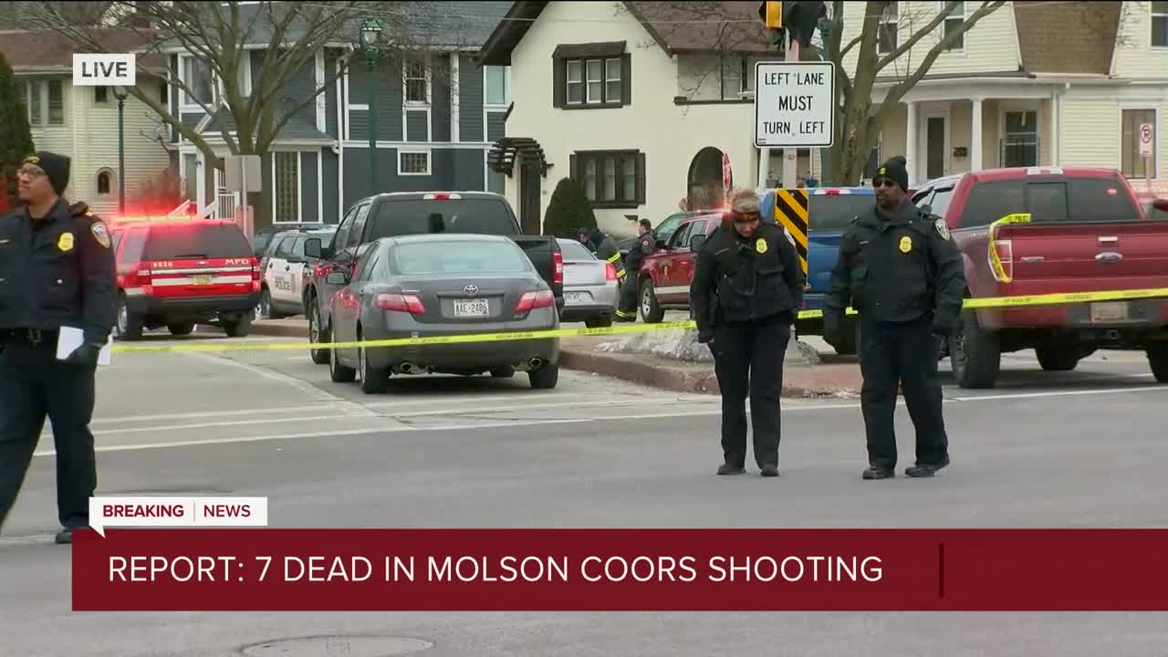 Multiple People Reportedly Dead After Shooting at Molson Coors Headquarters in Milwaukee