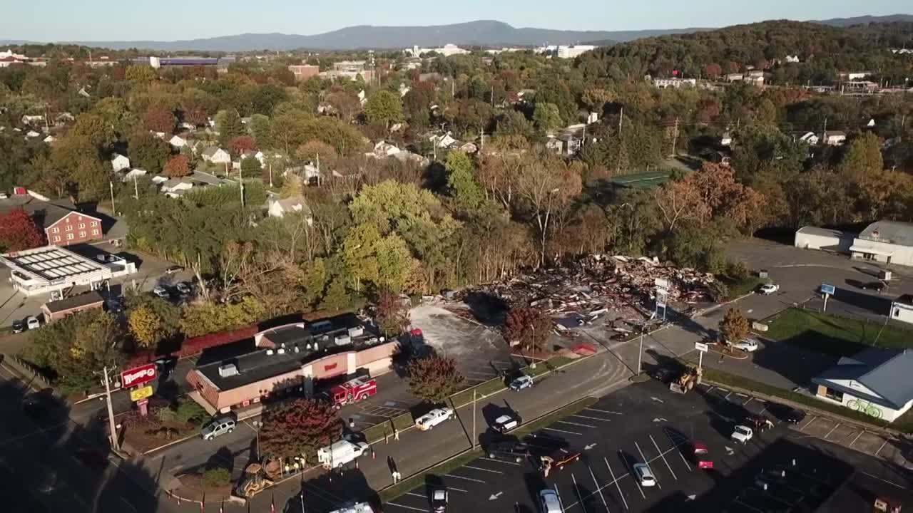 JMU student saw ' big mushroom cloud' after Harrisonburg blast