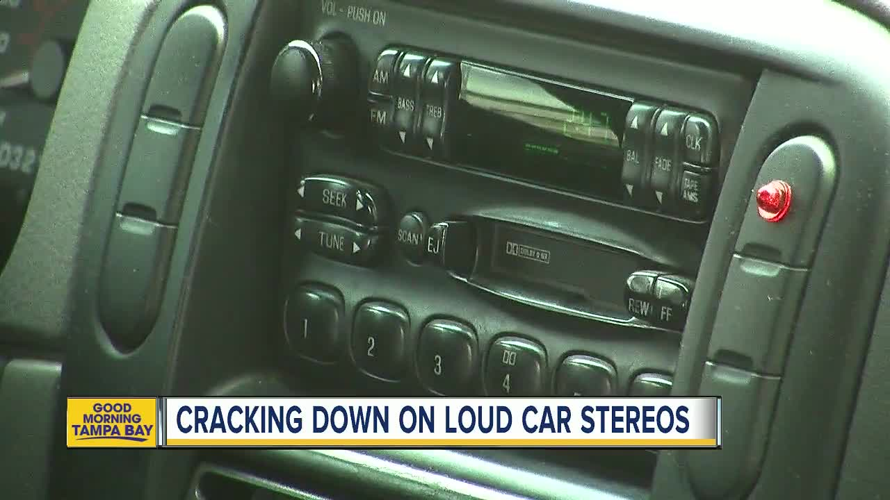 Pinellas deputies are cracking down on loud car stereos