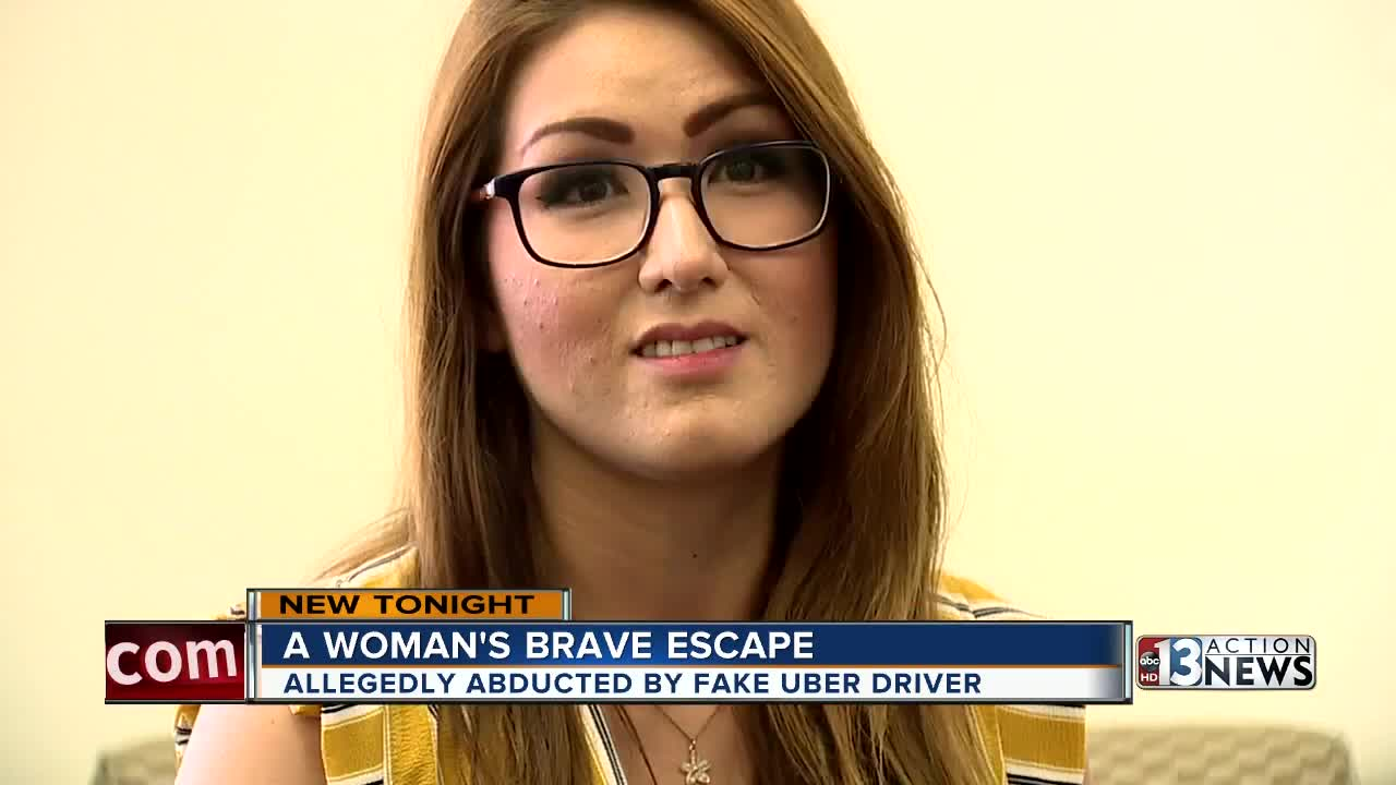Rideshare Nightmare: Woman jumped from car to escape fake