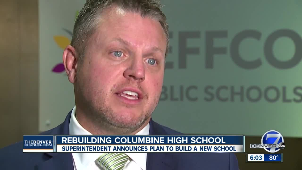 District considering tearing down Columbine High School