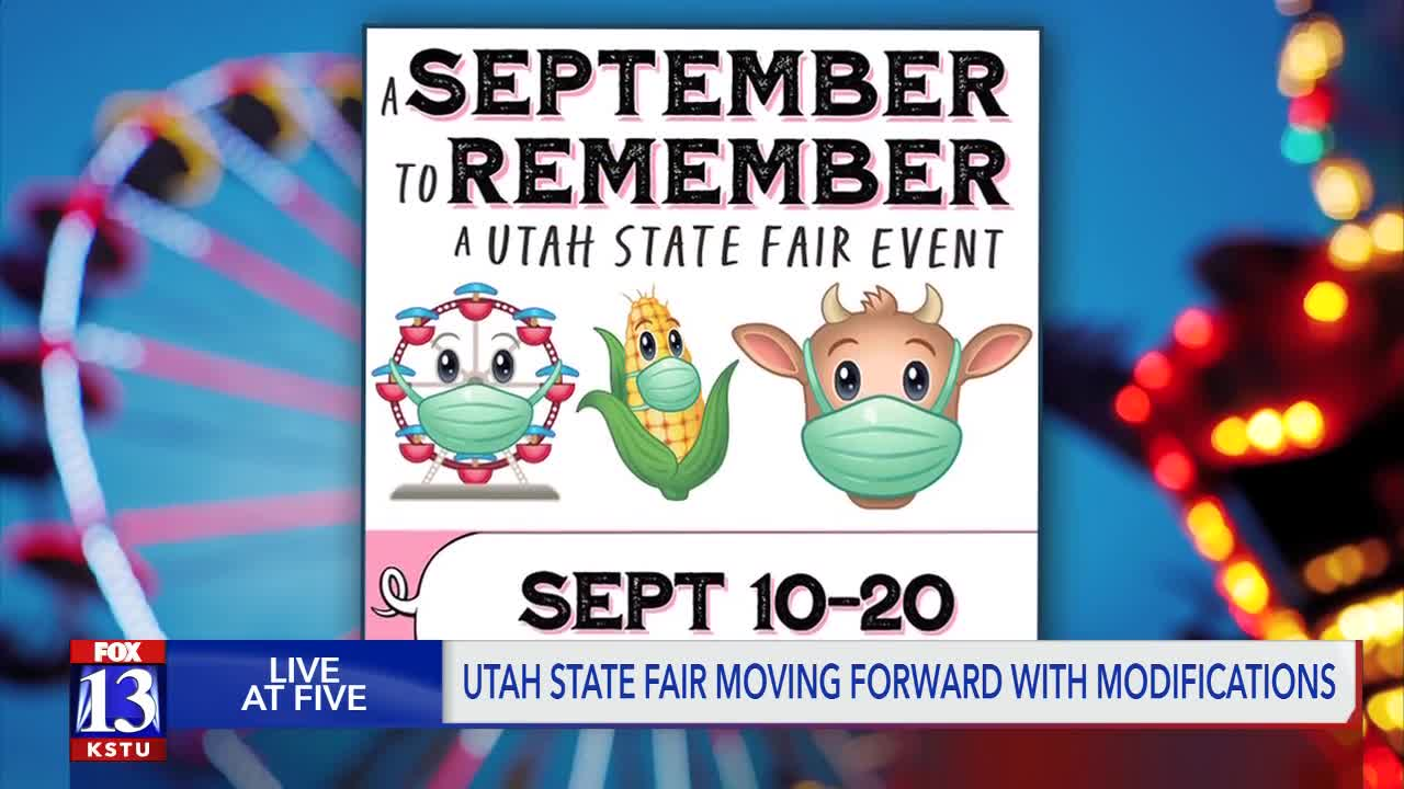 Utah State Fair Plans To Move Forward With Modifications