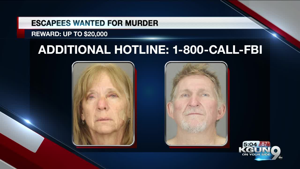 Armed and Dangerous: Tucson fugitives still at large