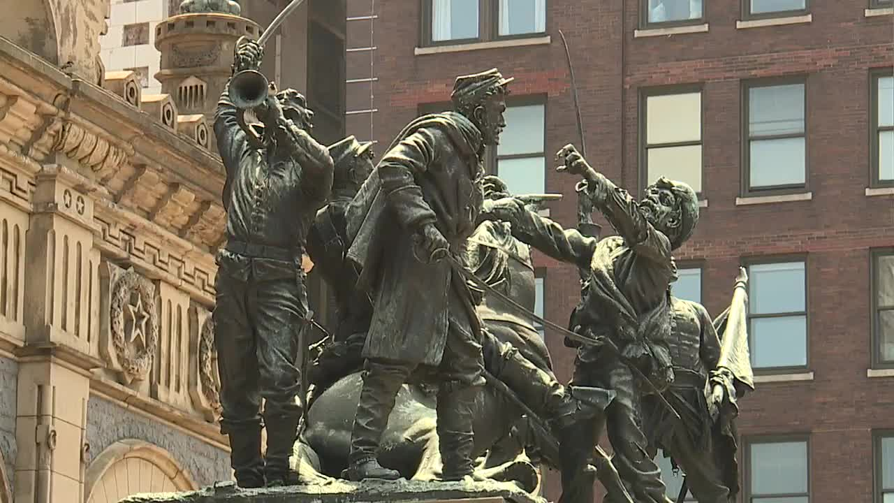 Image result for Cleveland's Soldiers' and Sailors' Monument turns 125