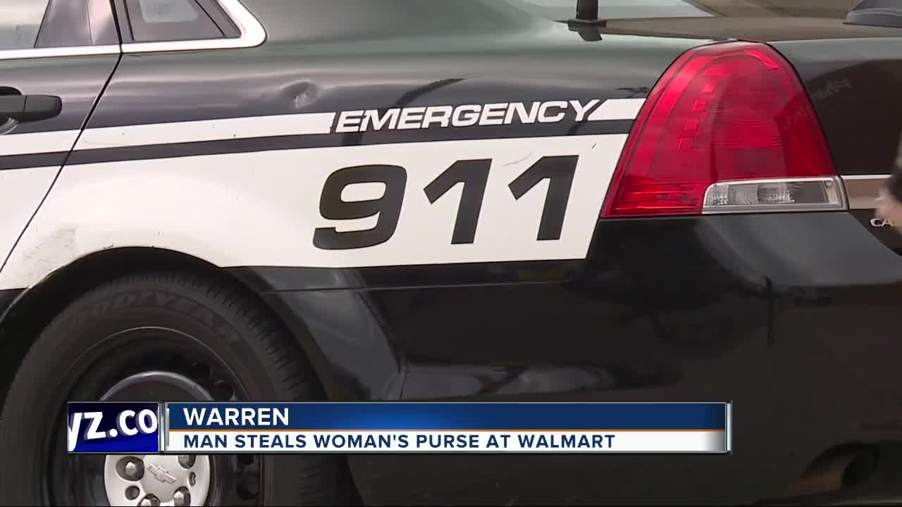 Warren Police Say An Elderly Woman Was Robbed Of Her Wallet Inside A Walmart On Christmas Eve