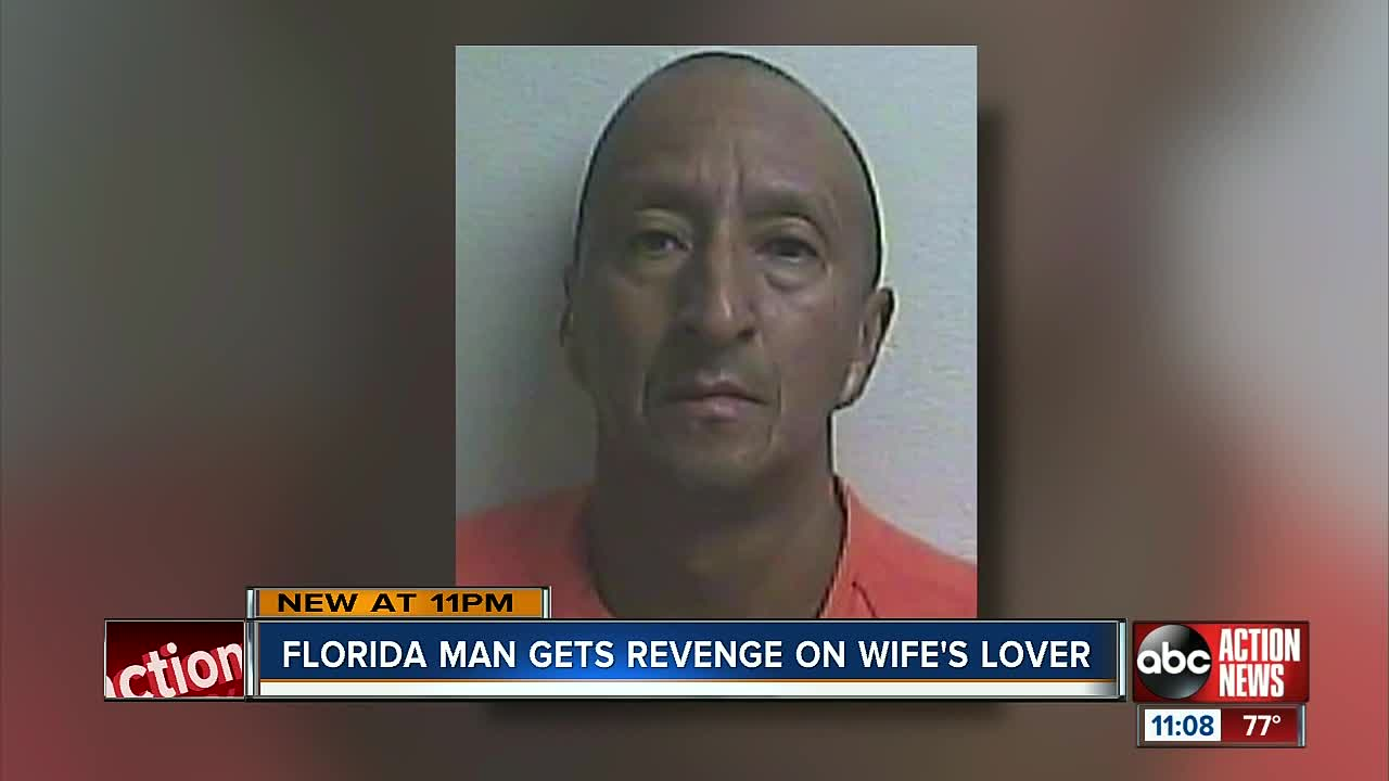 Deputies: Florida man tied up wife's lover, cut off appendage