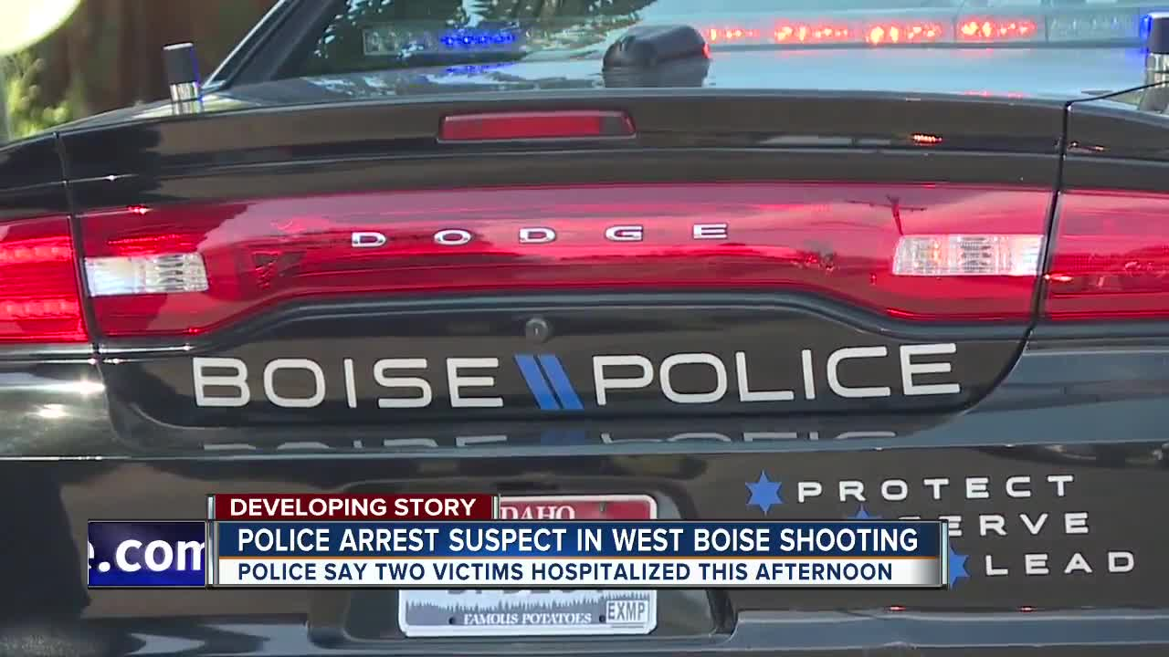 Boise Police: Suspect in Friday's Boise shooting being