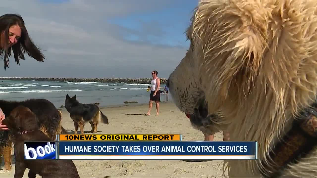 Humane Society Takes Over Animal Control Services This Weekend