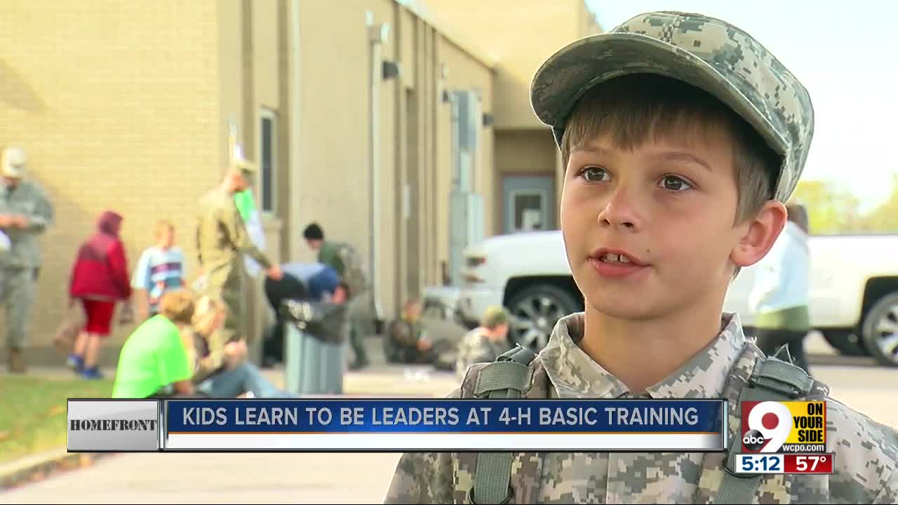 Military Boot Camp For Kids