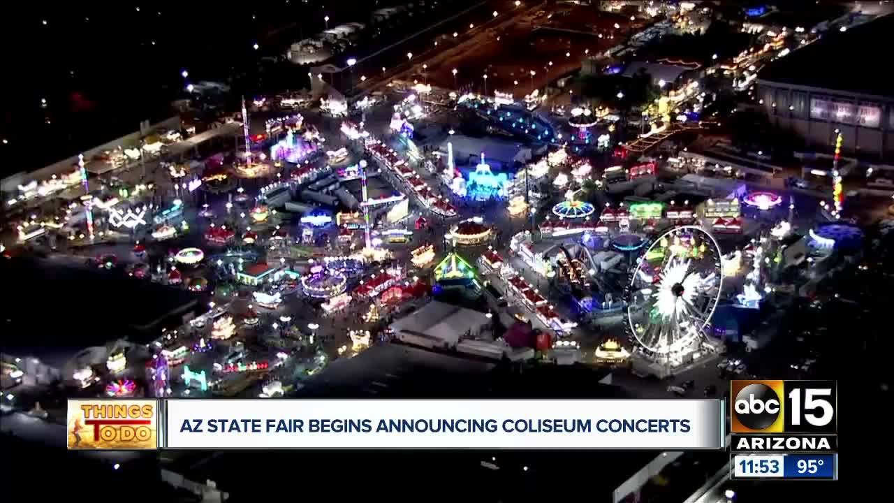 2019 Arizona State Fair concerts: See who's coming to this