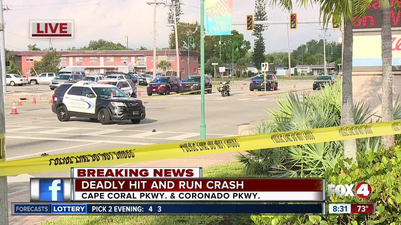Police identify victim in hit and run crash on Cape Coral