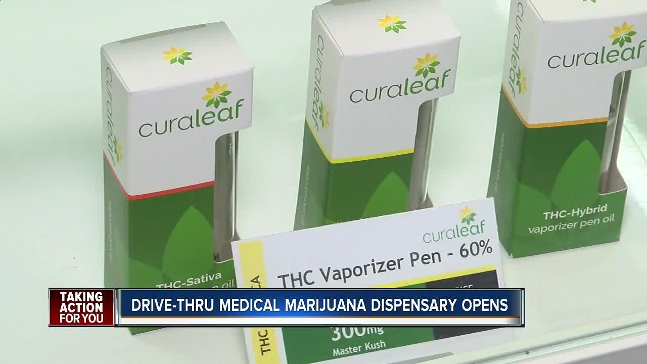 Florida's first medical marijuana drive-thru dispensary opens in