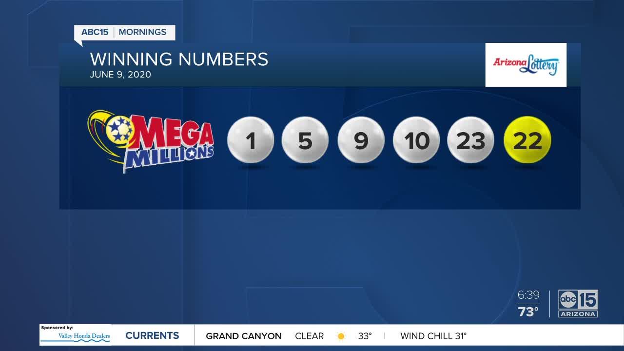 Winning Mega Millions Ticket Sold In Arizona For 410 Million Jackpot