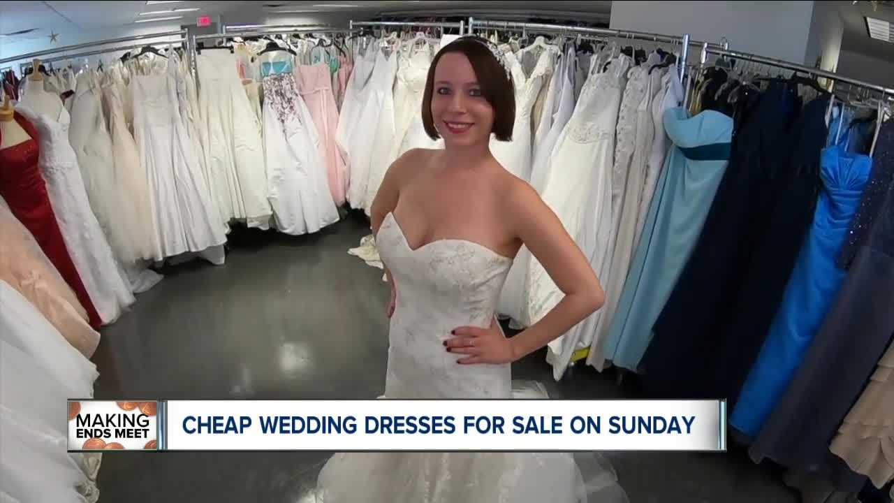 Super cheap wedding dresses for sale on Sunday