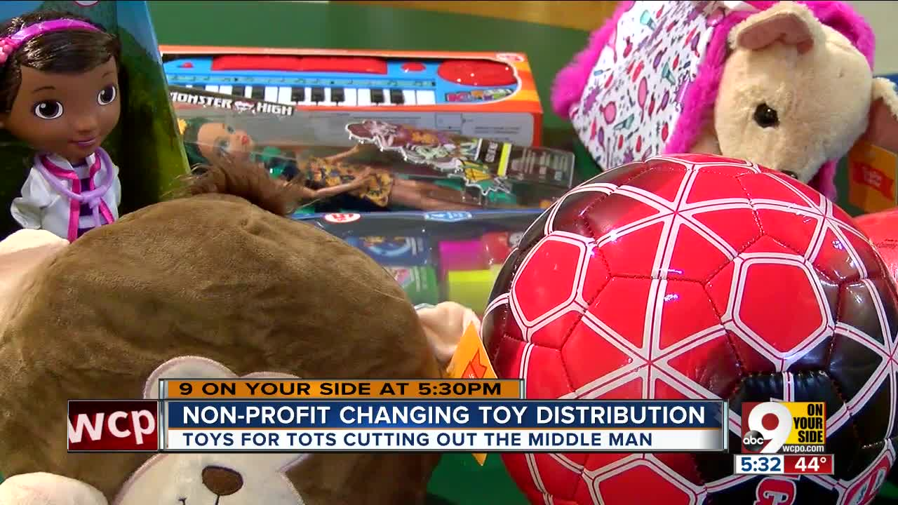 Toys for Tots distribution shift caught local nonprofits by