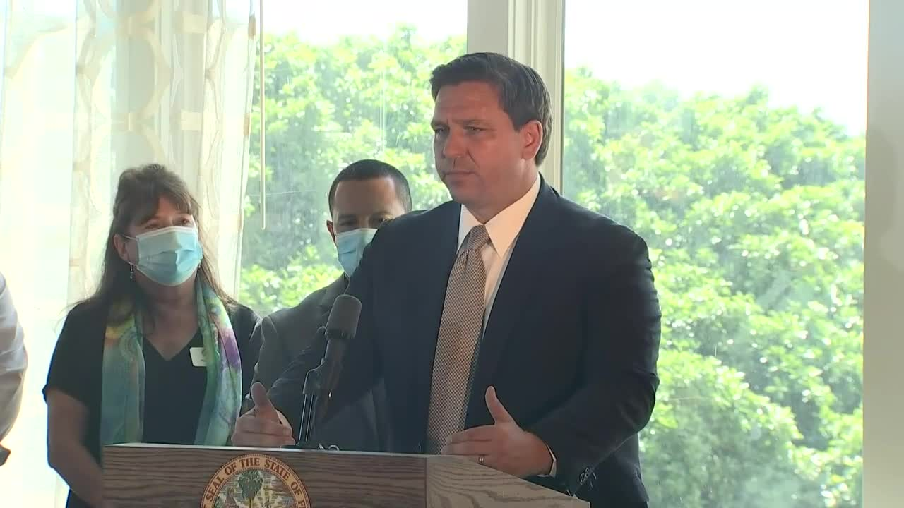 Florida's Governor Lifts All COVID-19 Restrictions On Businesses Statewide