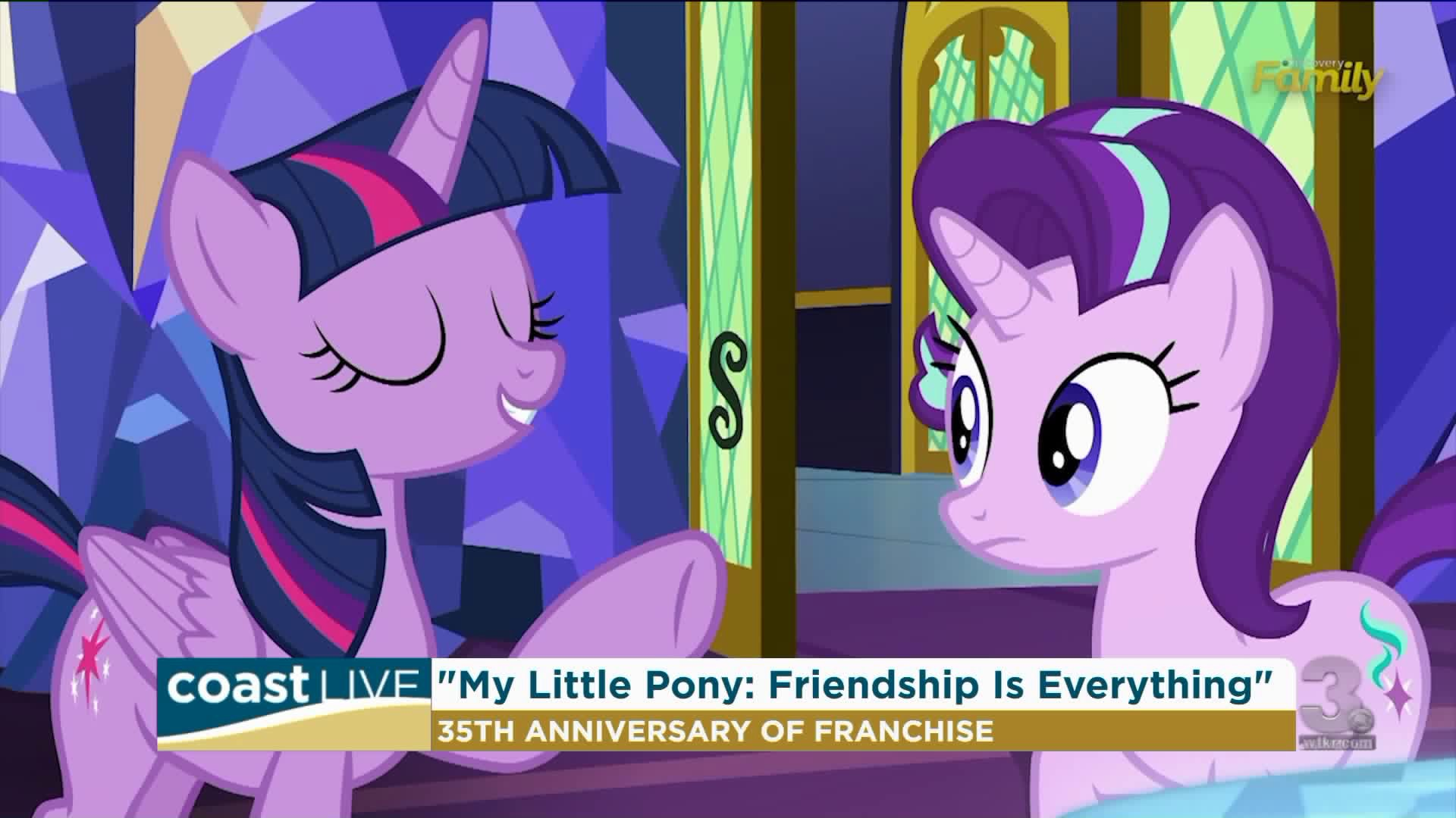 Celebrating 35 Years Of My Little Pony With The Voice Of Twilight