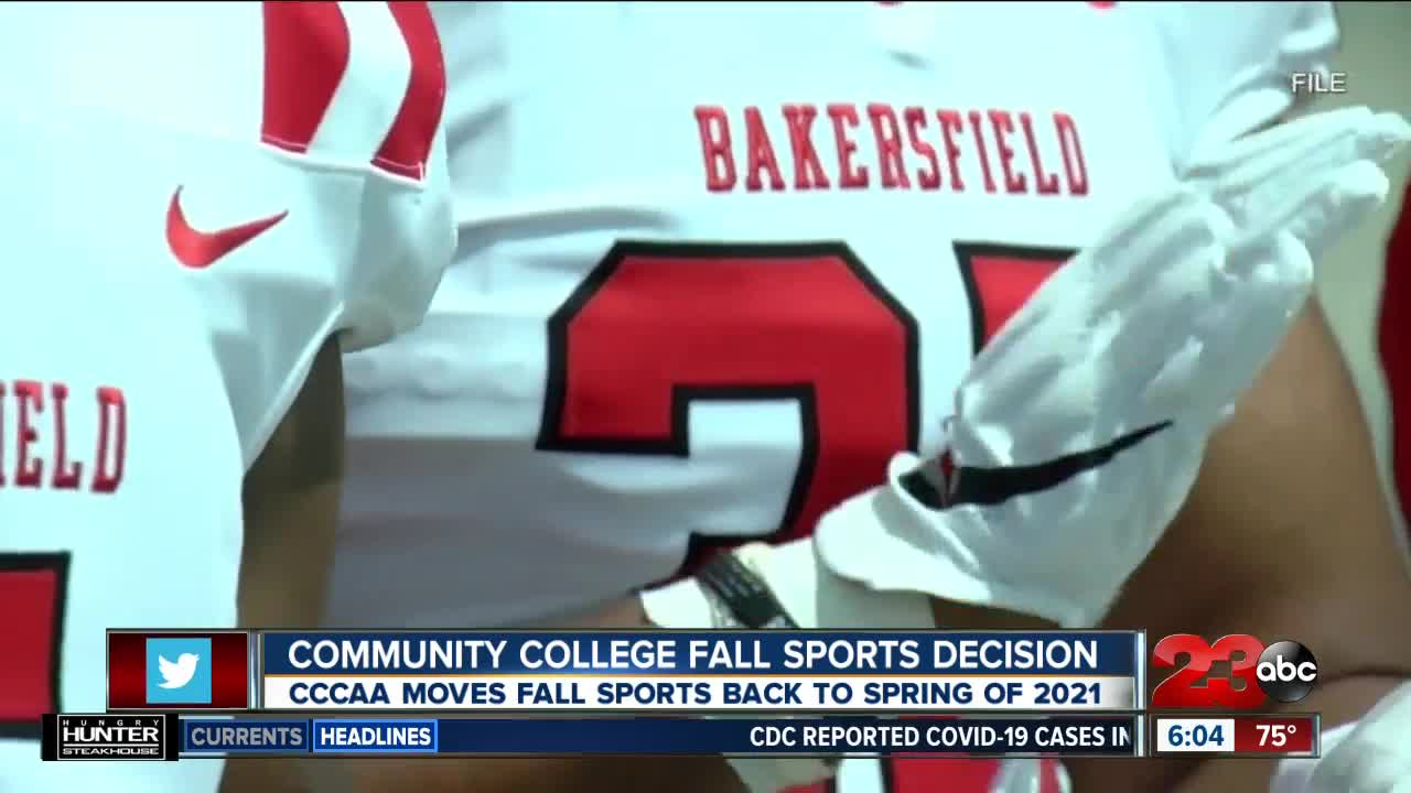 NJCAA announces plan that moves most fall sports to spring